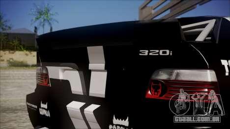 BMW M3 E36 GT-Shop para GTA San Andreas vista direita