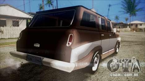 Chevrolet Veraneio para GTA San Andreas esquerda vista