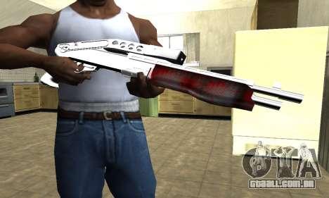 Blood Combat Shotgun para GTA San Andreas