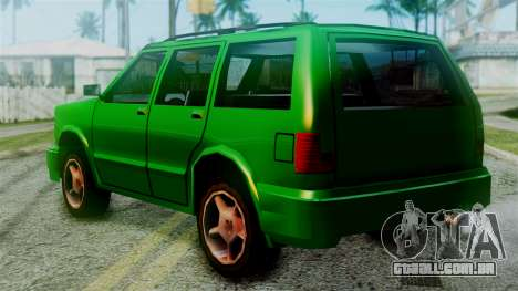 Landstalker New Edition para GTA San Andreas esquerda vista