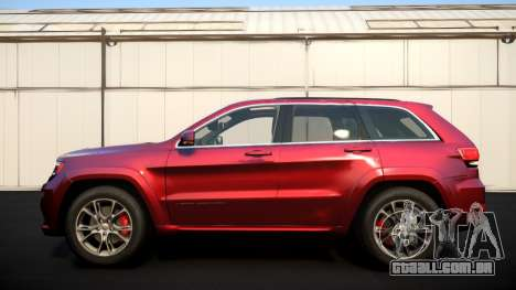 Jeep Grand Cherokee SRT8 2015 v1.0 para GTA 4 vista interior