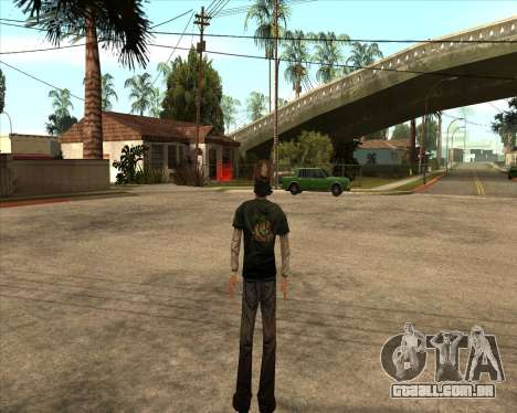 Kenny from Walking Dead para GTA San Andreas segunda tela