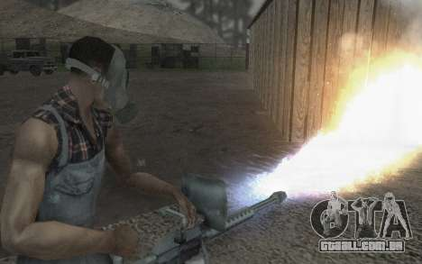 A máscara Virtus para GTA San Andreas por diante tela