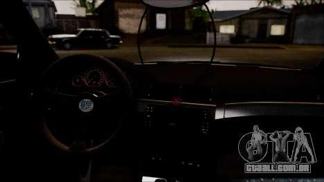 BMW 325t E46 LCI SAO Itasha para GTA San Andreas vista traseira