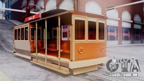 New Tram para GTA San Andreas