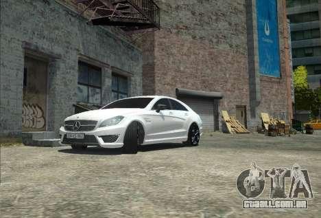 Mercedes-Benz CLS 63 AMG para GTA 4 vista de volta