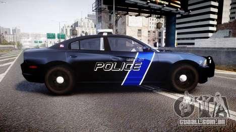 Dodge Charger 2014 LCPD [ELS] para GTA 4 esquerda vista