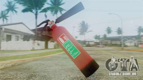 Fire Extinguisher from GTA 5 para GTA San Andreas segunda tela