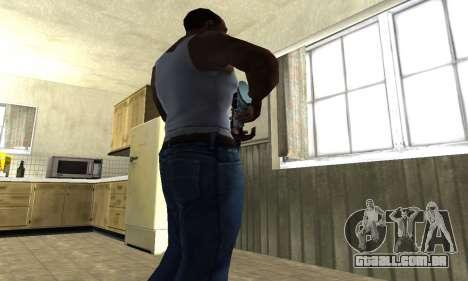 Mini Water Time Sniper Rifle para GTA San Andreas terceira tela