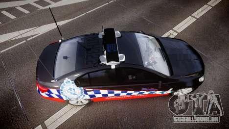 Holden VF Commodore SS Highway Patrol [ELS] para GTA 4 vista direita