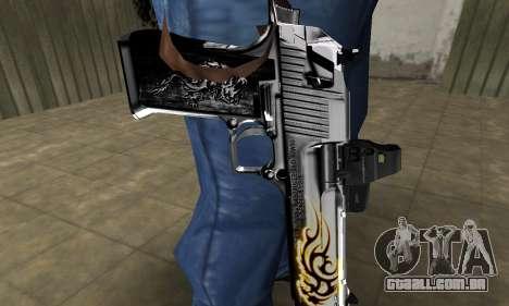 Flame Deagle para GTA San Andreas segunda tela