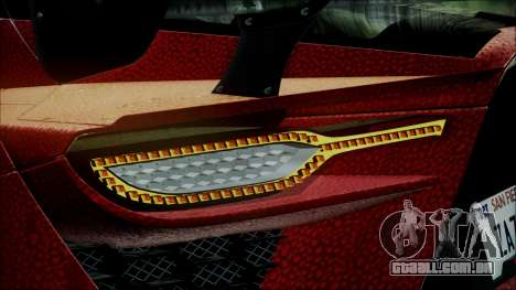 Bertone Mantide 2010 para GTA San Andreas vista traseira