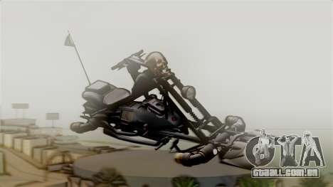 Hexer Moto Jet para GTA San Andreas