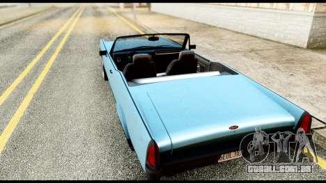 GTA 5 Vapid Chino Stock para GTA San Andreas esquerda vista
