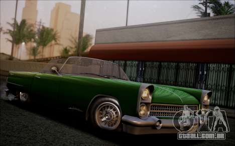 GTA 5 Vapid Peyote IVF para GTA San Andreas vista traseira