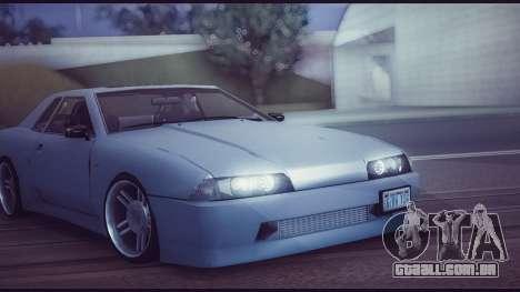 Elegy Lumus para GTA San Andreas vista traseira