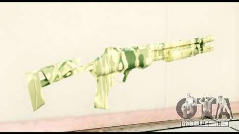 Shotgun from Crysis 2 para GTA San Andreas segunda tela