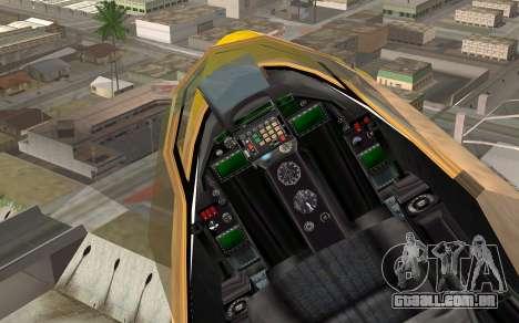 GTA 5 Besra para GTA San Andreas vista direita