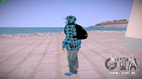 Latinos para GTA San Andreas terceira tela