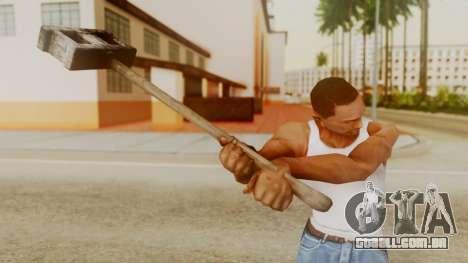 Bogeyman Hammer from Silent Hill Downpour v2 para GTA San Andreas terceira tela