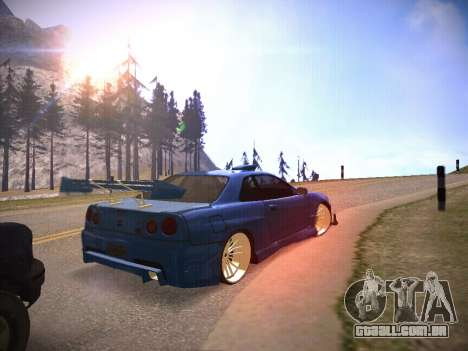 T.0 Secret Enb para GTA San Andreas terceira tela