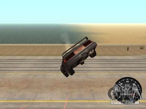 Velocímetro de GÁS 52 para GTA San Andreas terceira tela