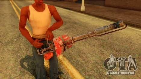 Atmosphere Flame Thrower para GTA San Andreas terceira tela