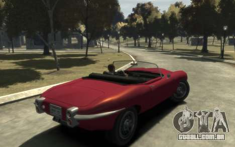 Enus Windsor Classic para GTA 4 traseira esquerda vista