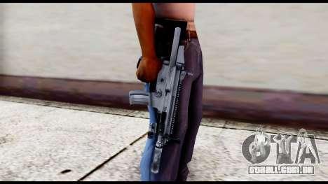 MK16 PDW Standart Quality v1 para GTA San Andreas terceira tela