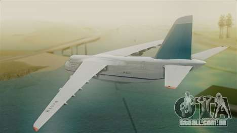 Antonov 124 Russian Airforce para GTA San Andreas esquerda vista