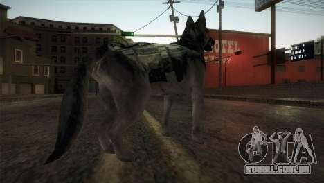 COD Ghosts - Riley Skin para GTA San Andreas terceira tela