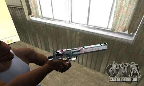 Flowers Deagle para GTA San Andreas segunda tela