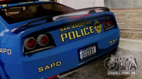 Hunter Citizen from Burnout Paradise SAPD para GTA San Andreas vista interior
