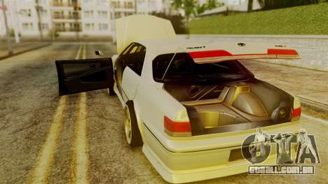 Toyota Mark 2 100 para GTA San Andreas vista interior