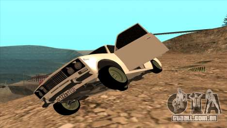 CAÇADOR 2106 Ostentum para GTA San Andreas traseira esquerda vista