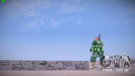 Huf Man para GTA San Andreas quinto tela