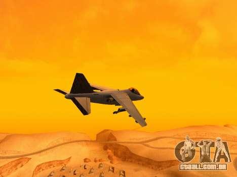 T.0 Secret Enb para GTA San Andreas por diante tela