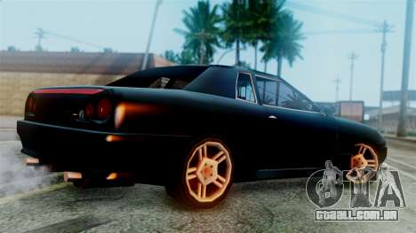 Elegy New Edition para GTA San Andreas esquerda vista