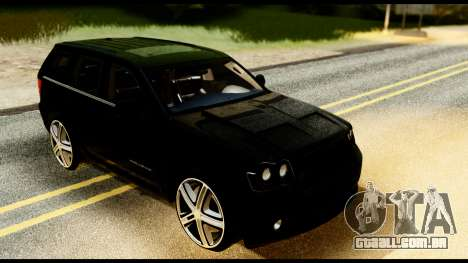 Jeep Grand Cherokee SRT8 Restyling M Final para GTA San Andreas vista direita