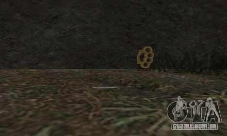 Knuckledusters from GTA 5 para GTA San Andreas segunda tela
