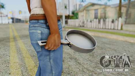 Frying Pan from Silent Hill Downpour para GTA San Andreas terceira tela