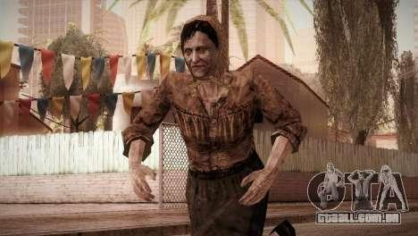 RE4 Isabel para GTA San Andreas
