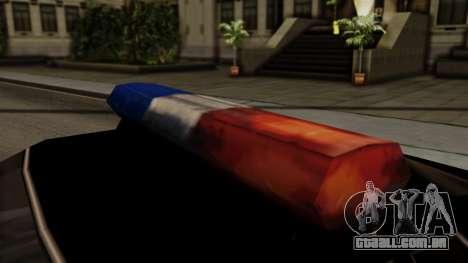 Police Elegy para GTA San Andreas vista direita