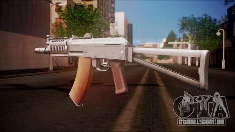 AKC-47У do campo de Batalha linha-dura para GTA San Andreas segunda tela