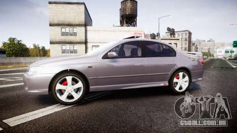 Ford Falcon XR8 Unmarked Police [ELS] para GTA 4 esquerda vista