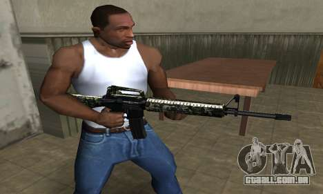 Military M4 para GTA San Andreas segunda tela
