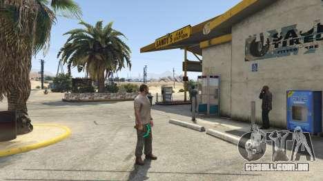GTA 5 Diamond Pickaxe V v1.0 terceiro screenshot