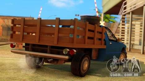 Premier Country Pickup para GTA San Andreas esquerda vista