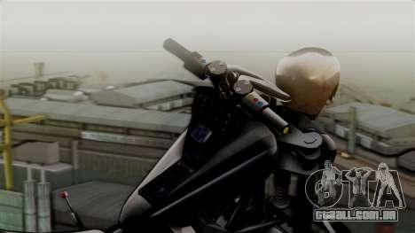 Hexer Moto Jet para GTA San Andreas traseira esquerda vista