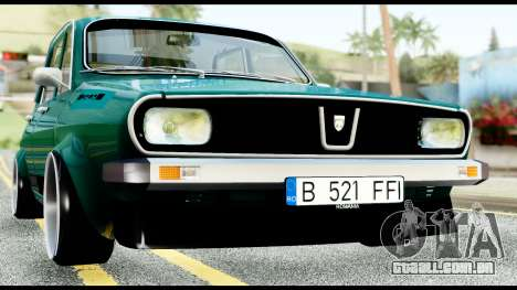 Dacia 1310 Carrera para GTA San Andreas esquerda vista